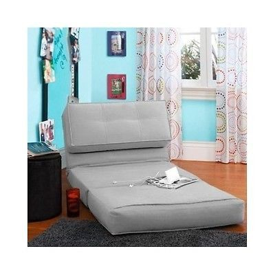 Chair Bed Kids Flip Chairs Sleeper Lounge Dorm Teen