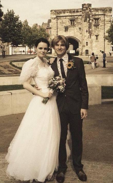 Real Brides Bespoke Wedding Dress Vintage At Number 18 Www Vintageatnumber18