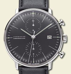 Junghans Wrist Watch By Max Bill Saatler Urunler Aksesuarlar