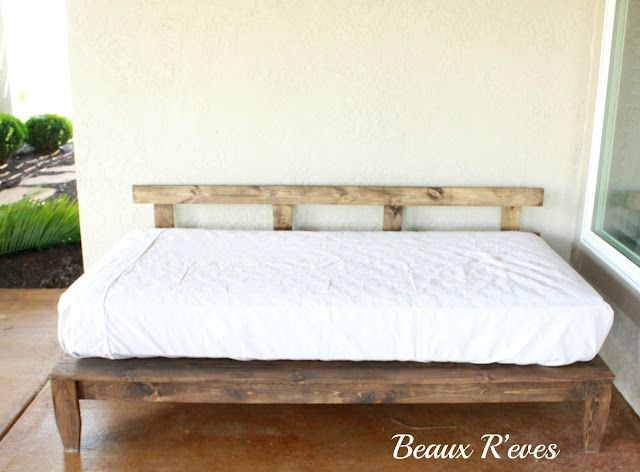 Diy Daybed With Storage