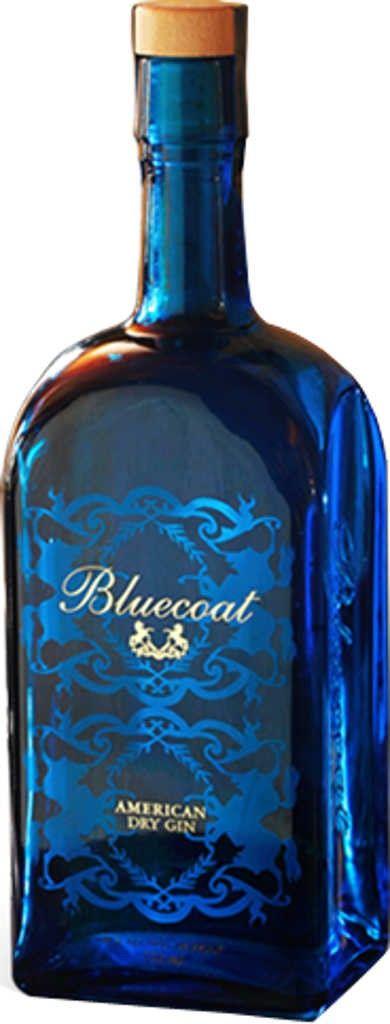 Gin von Bluecoat in der 0,7 l Flasche mit 47 % Vol. Alc.
