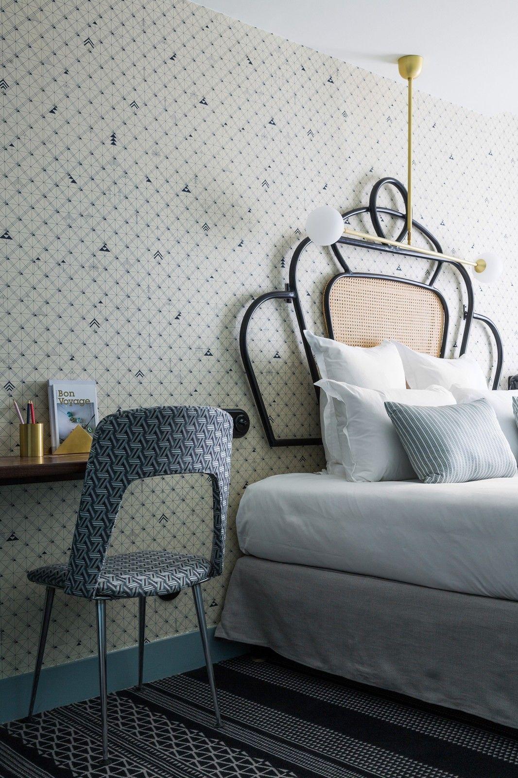 Hôtel Panache Paris – Chambre Double Classique   Deco   Pinterest ...