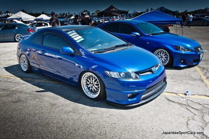 Photo(s) Of 2007 Honda Civic Si On BBS LM Wheels .