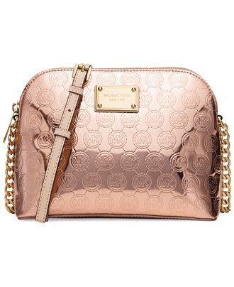 68955963c110d1 MICHAEL Michael Kors Cindy Large Dome Crossbody - Handbags & Accessories -  Macy'