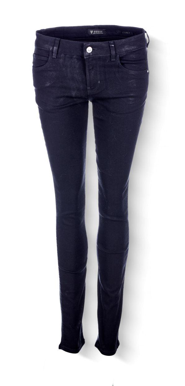 Guess - dámské kalhoty Denim e3f882f2c9