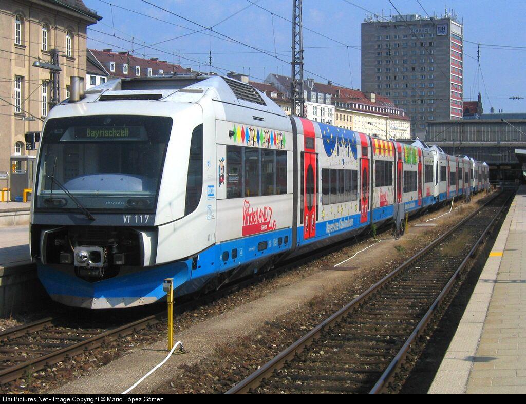 Bayerische Oberlandbahn am München Hauptbahnhof