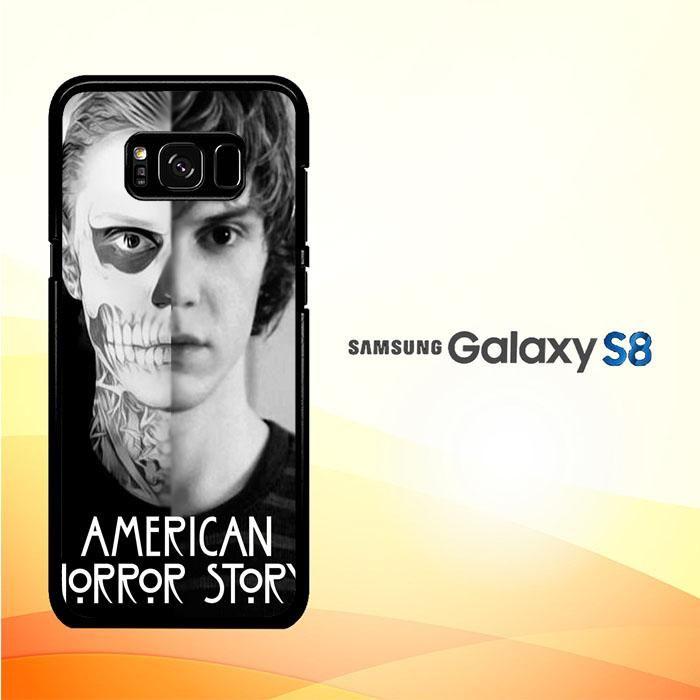 American Horror Story Skull Tate V1404 Samsung Galaxy S8 Case
