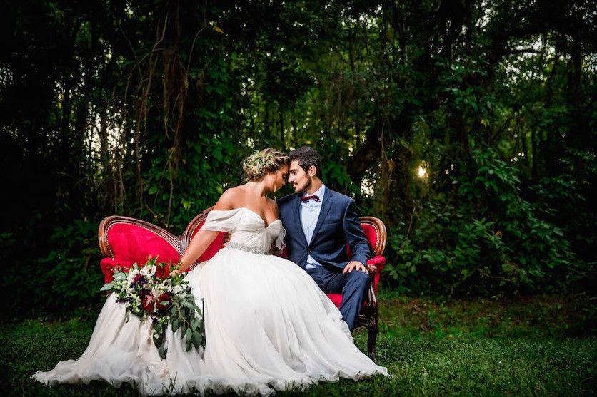 Romantic Southern Elegance Wedding Inspiration Bride