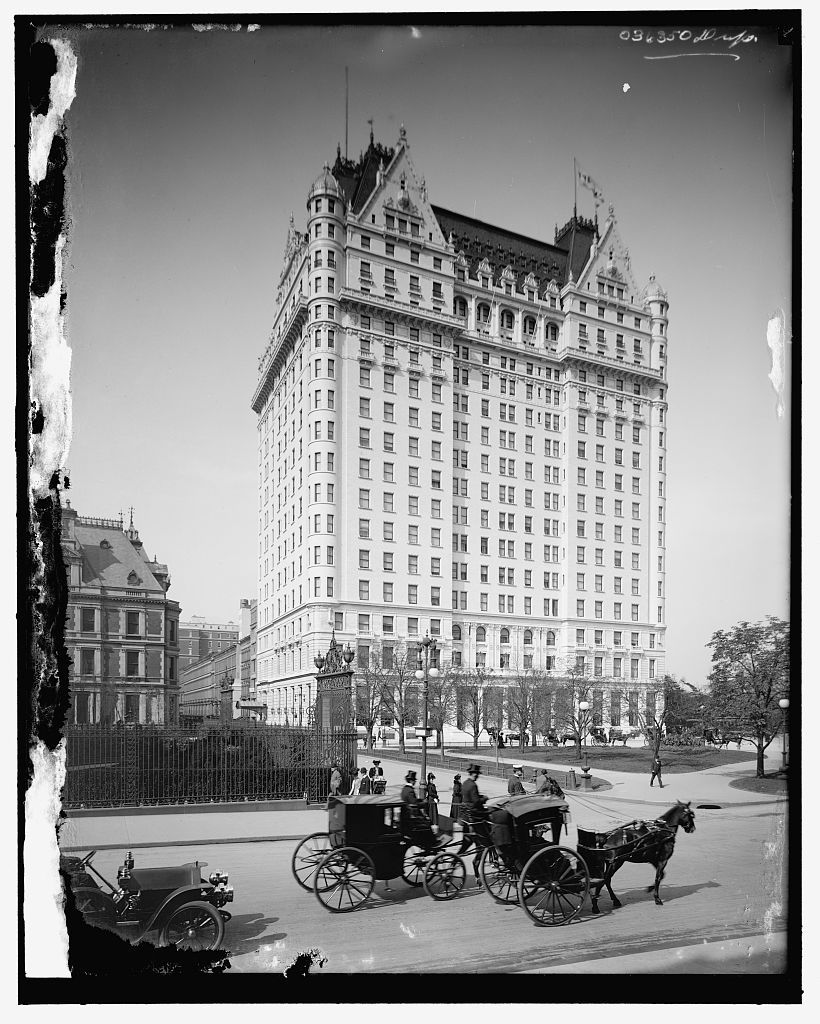 16 x 20 Gallery Wrapped Frame Art Canvas Print of Plaza Hotel New ...