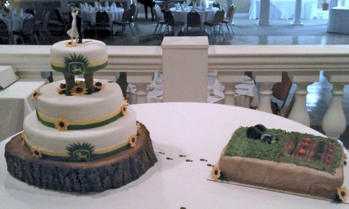 John Deere Wedding Cakes John Deere Wedding Grooms S