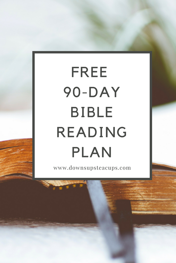 Free Bible Reading Plan With Sacred Holidays  www.downsupsteacups.com