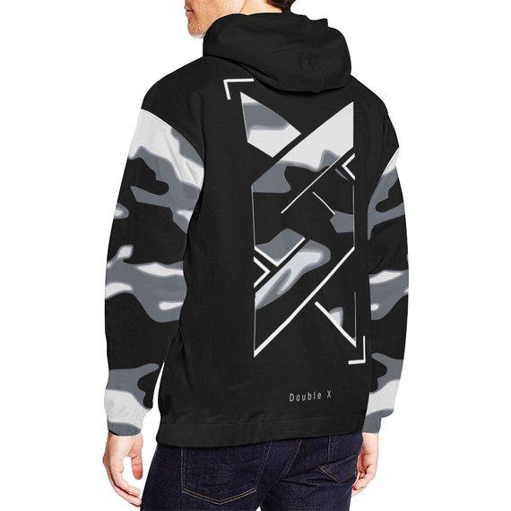 e7b825eb Custom black camo Hoodie streetwear style | Products in 2019 ...