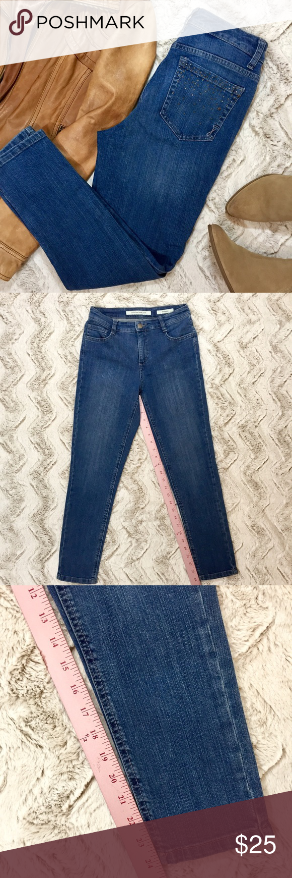 Jones New York Soho Ankle Crop Jeans Jones New York Soho Ankle Crop Jeans So Soft And Comfortable I Only Wore The Clothes Design Cropped Jeans Fashion Design