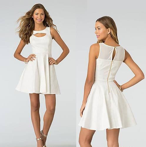 5376f79f3c4 vestidos de moda 2014 juveniles - Buscar con Google   Comida ...