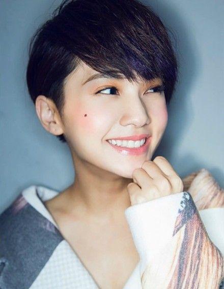 36 Rainie Yang Ideas Yang Shu Uemura Long To Short Hair