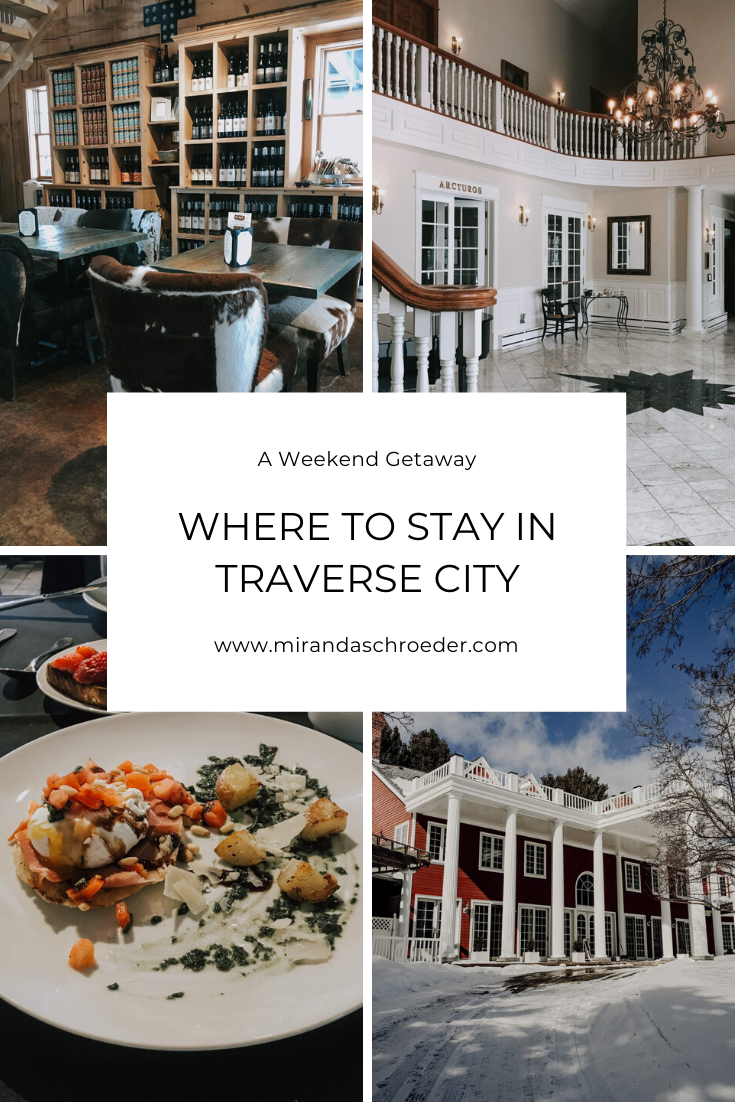 Romantic Weekend Getaway in Traverse City, Michigan in