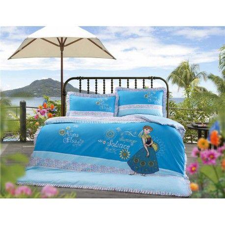 anna and elsa disney bettw sche stickerei kinder g nstig. Black Bedroom Furniture Sets. Home Design Ideas
