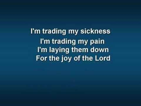 Trading My Sorrows Original Video W Lyrics Youtube I Think Of
