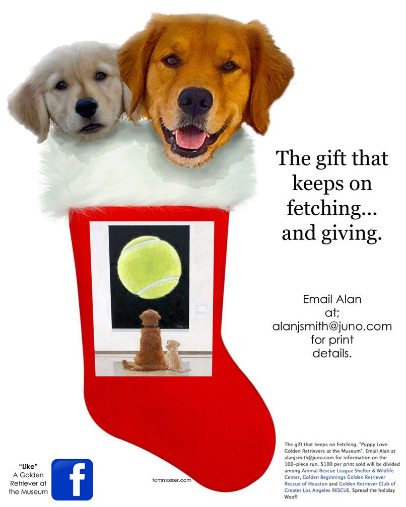 The Gift That Keeps On Fetching And Giving Two Golden