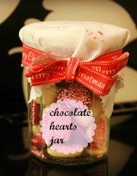 Get crafty for Christmas presents and save money by making chocolate hearts.