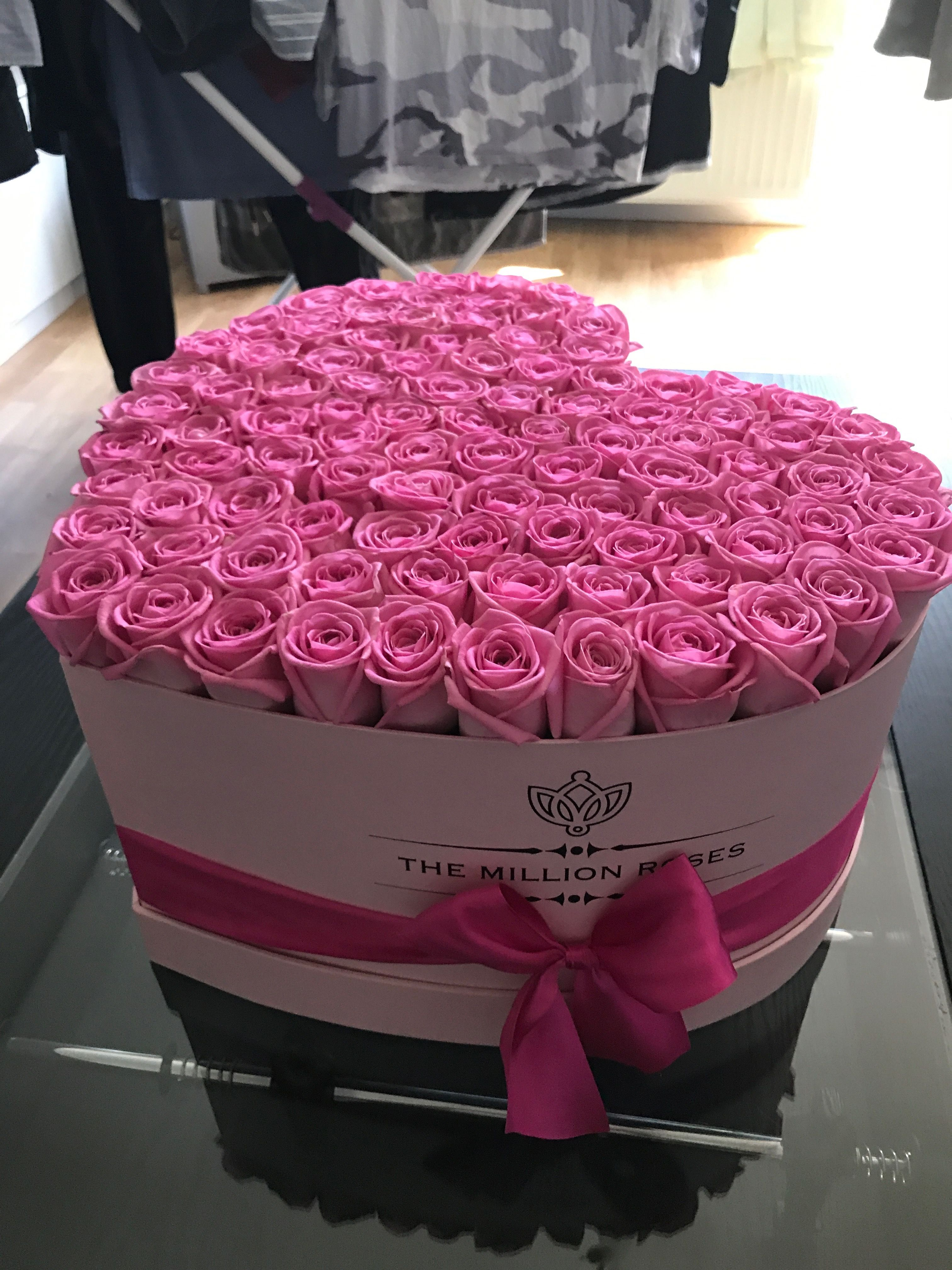 The Million Roses Most Beautiful Flowers Ever For My Birthday Thank