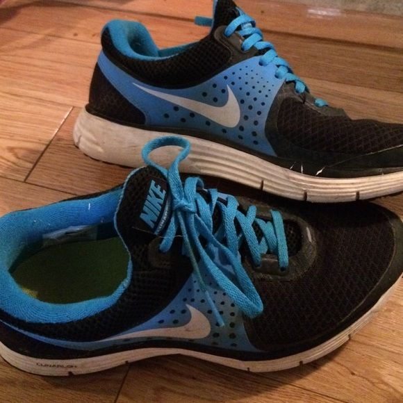 ac888d06b462cb Black and Blue Nike Lunar Swift 4 Size 7.5 These sneakers are absolutely  wonderful with a