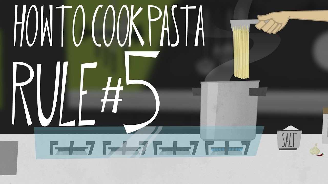Animation cooks tipstricks howto cook pasta rule5