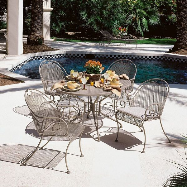 Found It At Wayfair   Cantebury 5 Piece Dining Set. Find This Pin And More  On Wrought Iron Patio ...