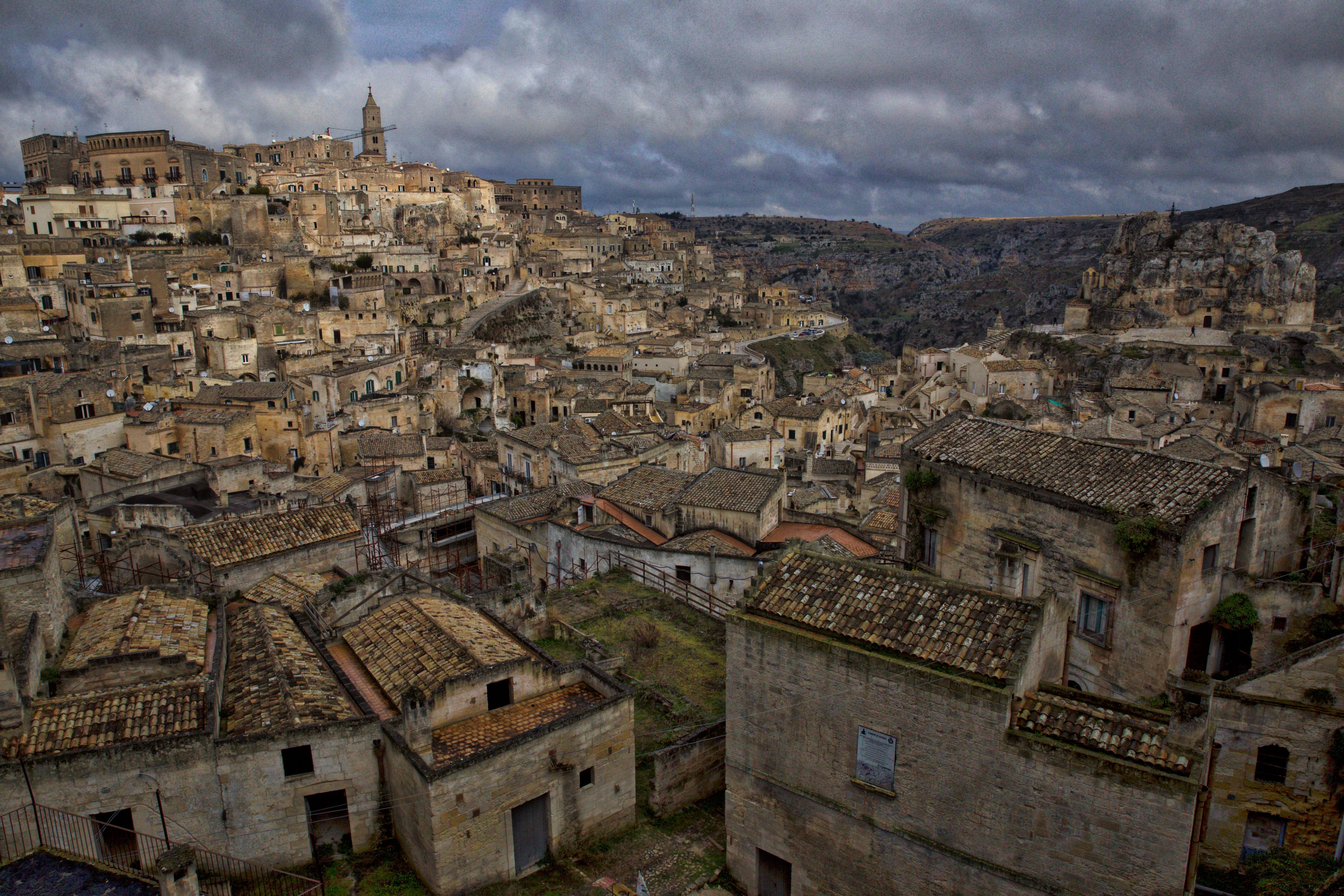 The incredible UNESCO World Heritage Site of Matera is one