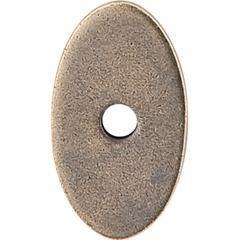 "Top Knobs TK58GBZ Sanctuary Oval Backplate Small 1 1/4"" , German Bronze"