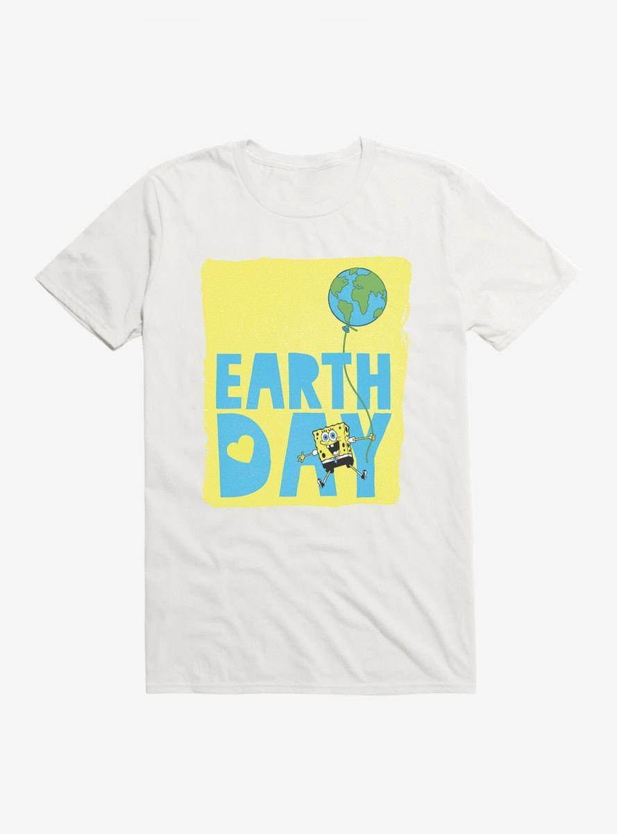 Photo of SpongeBob SquarePants Earth Day Balloon T-Shirt