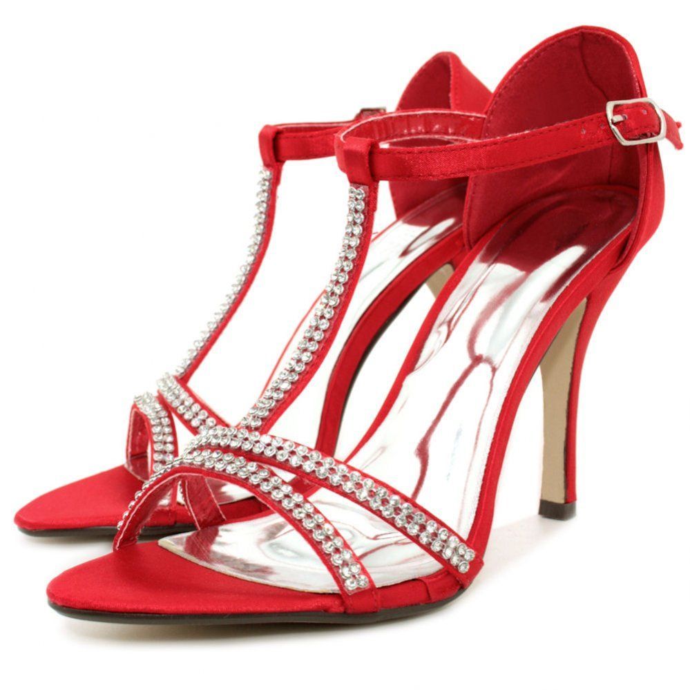 Pics For &gt Red Heel Sandals | sexy things in red | Pinterest | Red