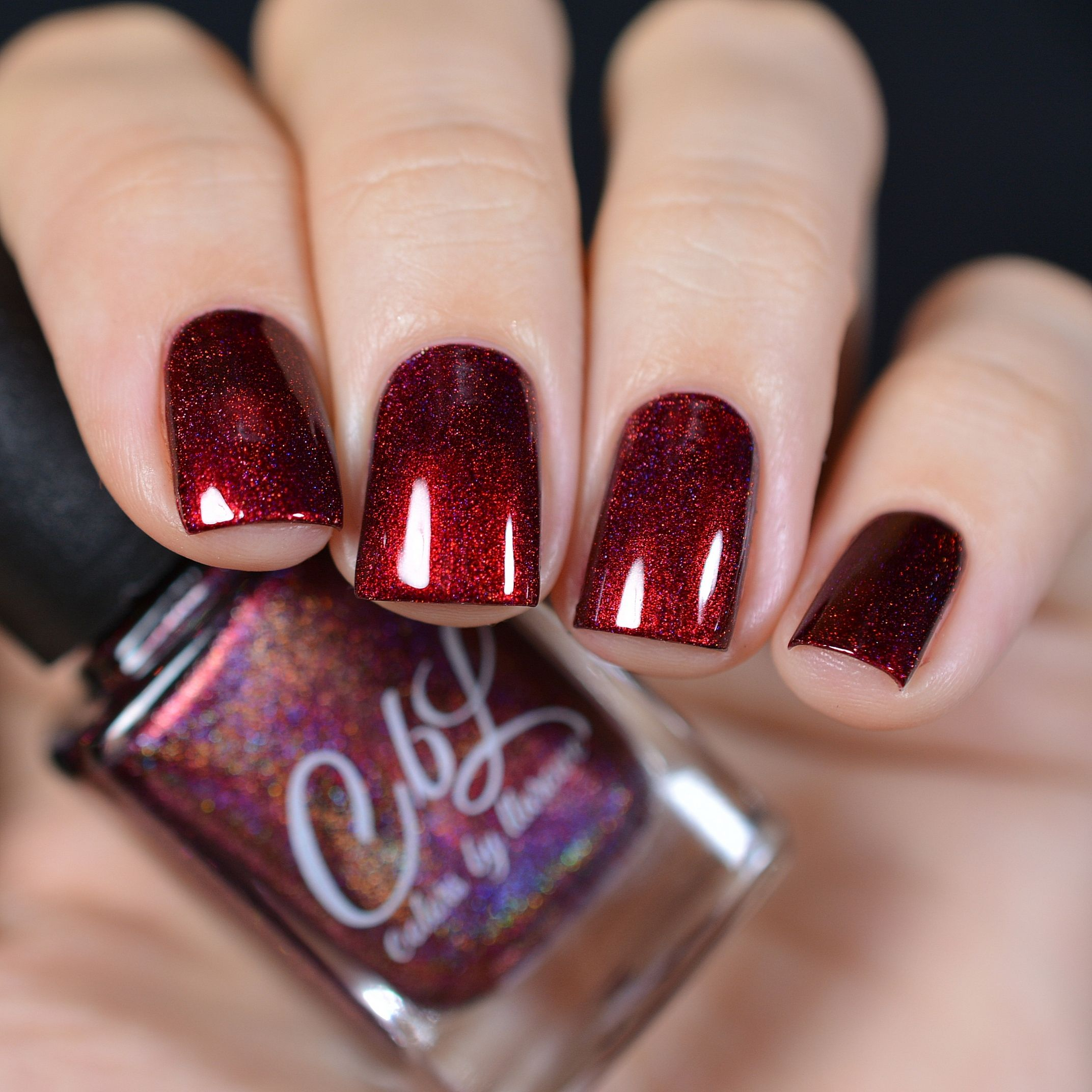 CbL Valentines 2017 - Hearts On Fire - A deep burgundy red linear ...