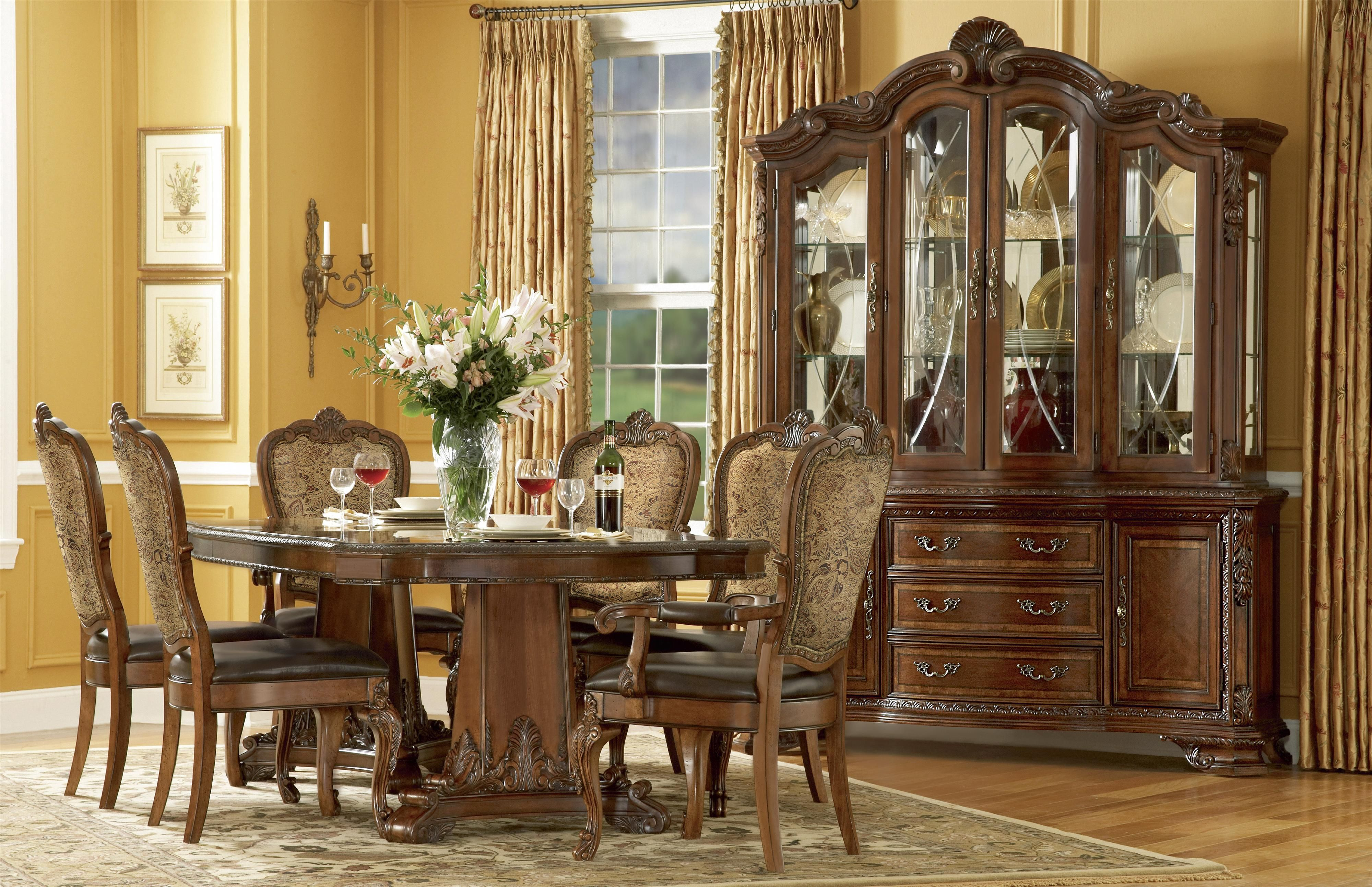 Old World Formal Dining Room Group By A.R.T. Furniture Inc At Powell Furniture  Store In Fredericksburg, VA