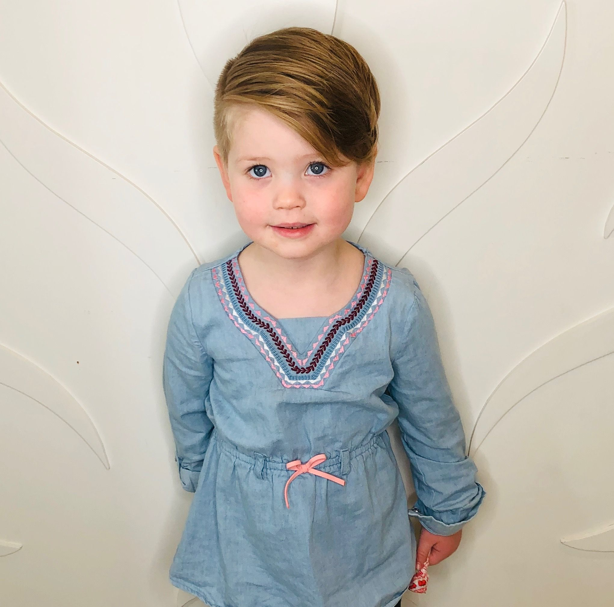 Little girl toddler undercut pixie in 2019