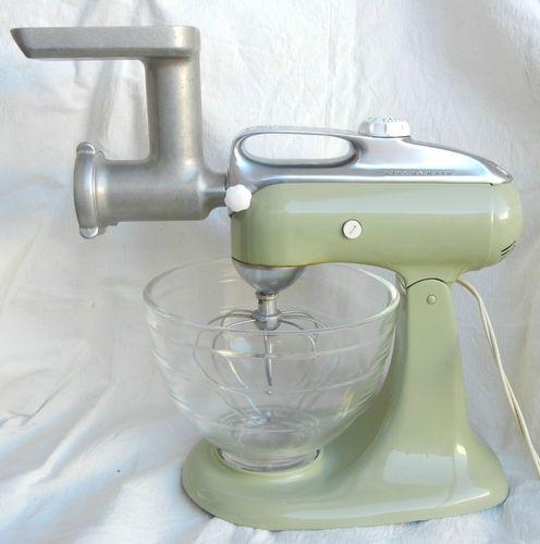 vintage kitchenaid stand mixer u0026 meat grinder still looks just as good as the current kitchenaid models