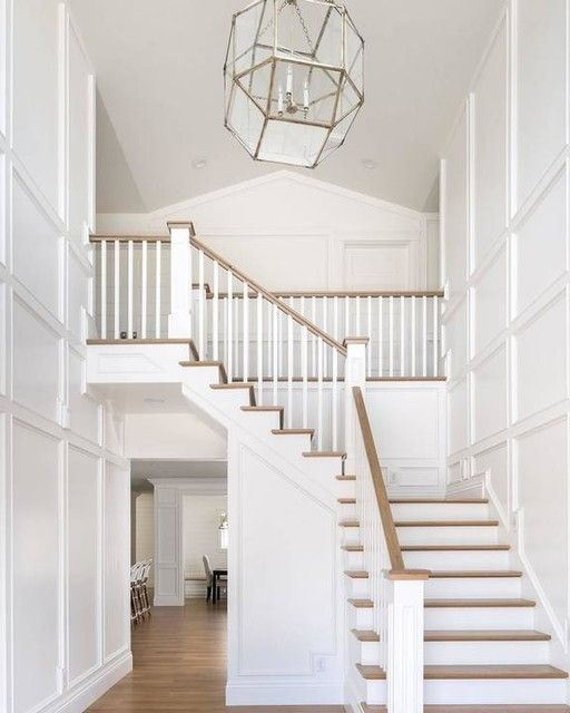 40 Trending Modern Staircase Design Ideas And Stair Handrails: Morris Large Lantern In 2020