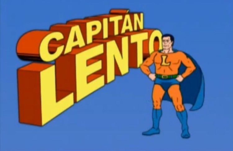 Captain Linger Cartoon Network