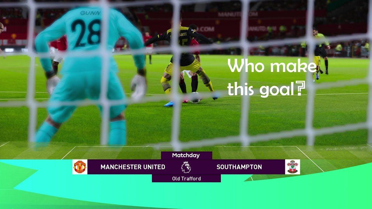 Epl Manchester United Vs Southampton 13 Jul 2020 Ft Bruno Fernandes In 2020 Manchester United Southampton The Unit