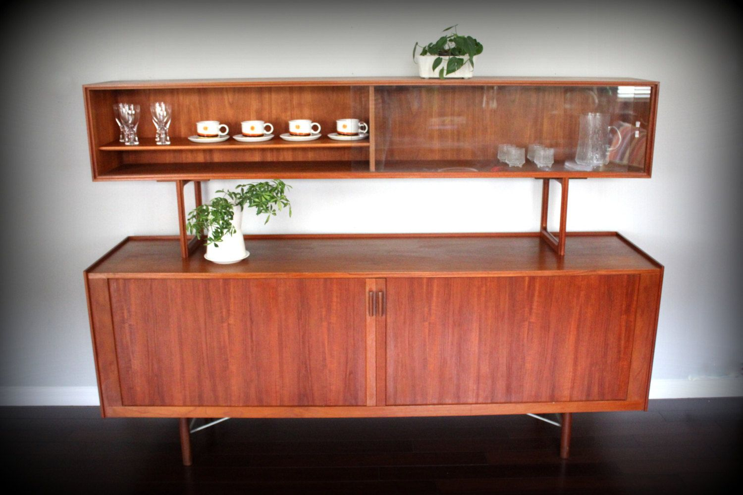 Danish Floating Credenza : Sold do not purchase mid century danish teak credenza sideboard