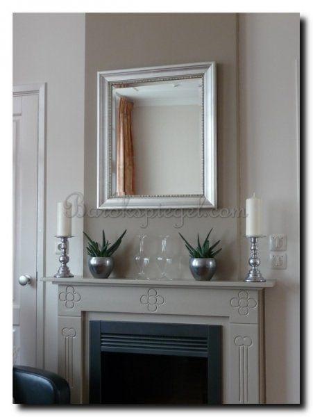 schouwspiegel zilver klassiek http://www.barokspiegel.com/detail ... - Spiegel Modern
