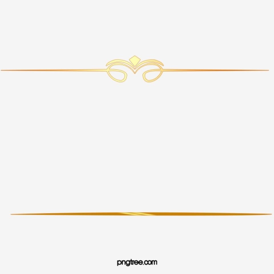 Gold Pattern Dividing Line Line Clipart Golden Pattern Png Transparent Clipart Image And Psd File For Free Download Gold Clipart Cool Blue Wallpaper Gold Pattern