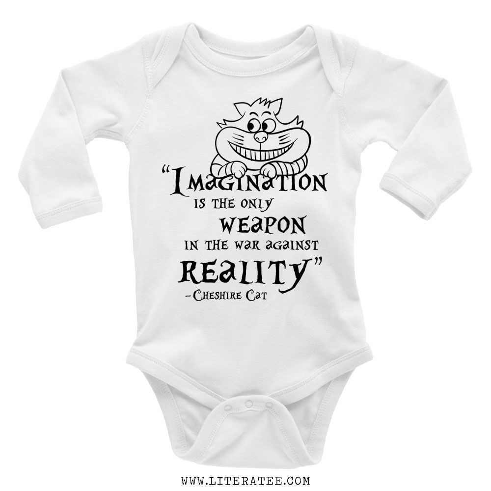 Flox Creative Long Sleeved Baby Vest Crazy Book Dude
