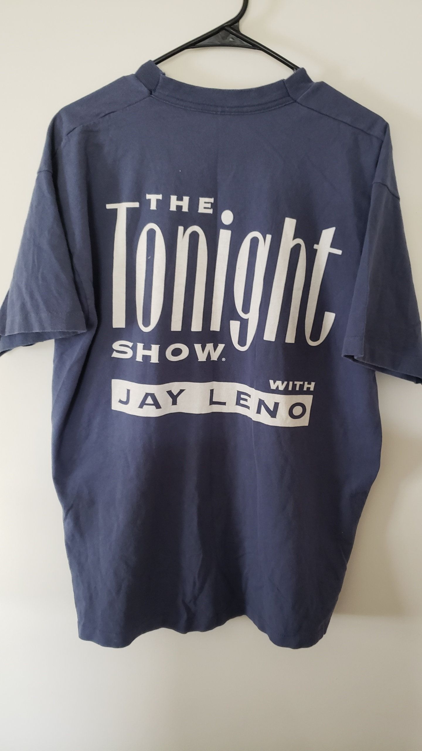 Vintage 90 s The Tonight Show with Jay Leno NBC Shirt - Size XL by  RackRaidersVtg on 59d378cad