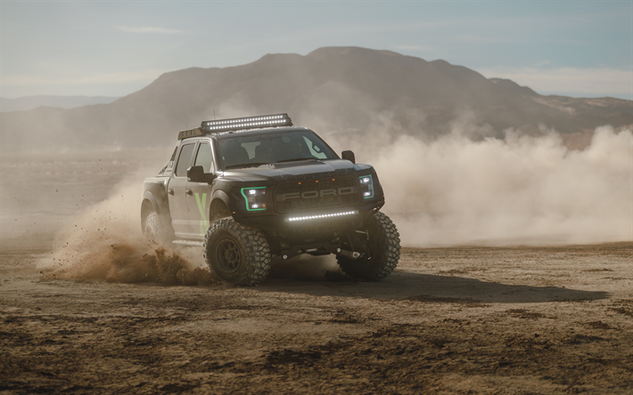 Download Wallpapers 4k, Ford F-150 Raptor Xbox One X