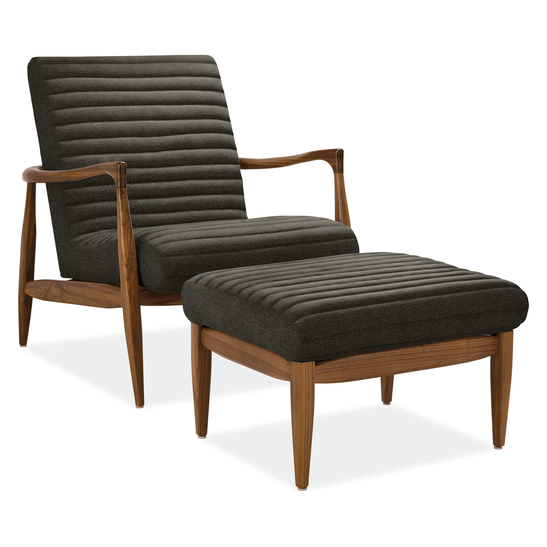 Room board callan ottoman chair and ottoman modern chairs living room furniture