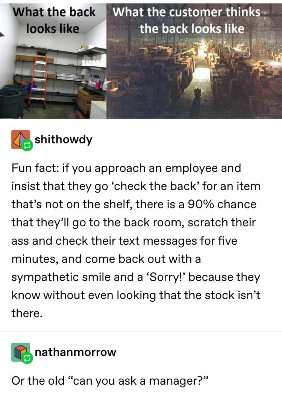 19 Tumblr Posts That All Retail Employees Can, Unfortunately, Relate To