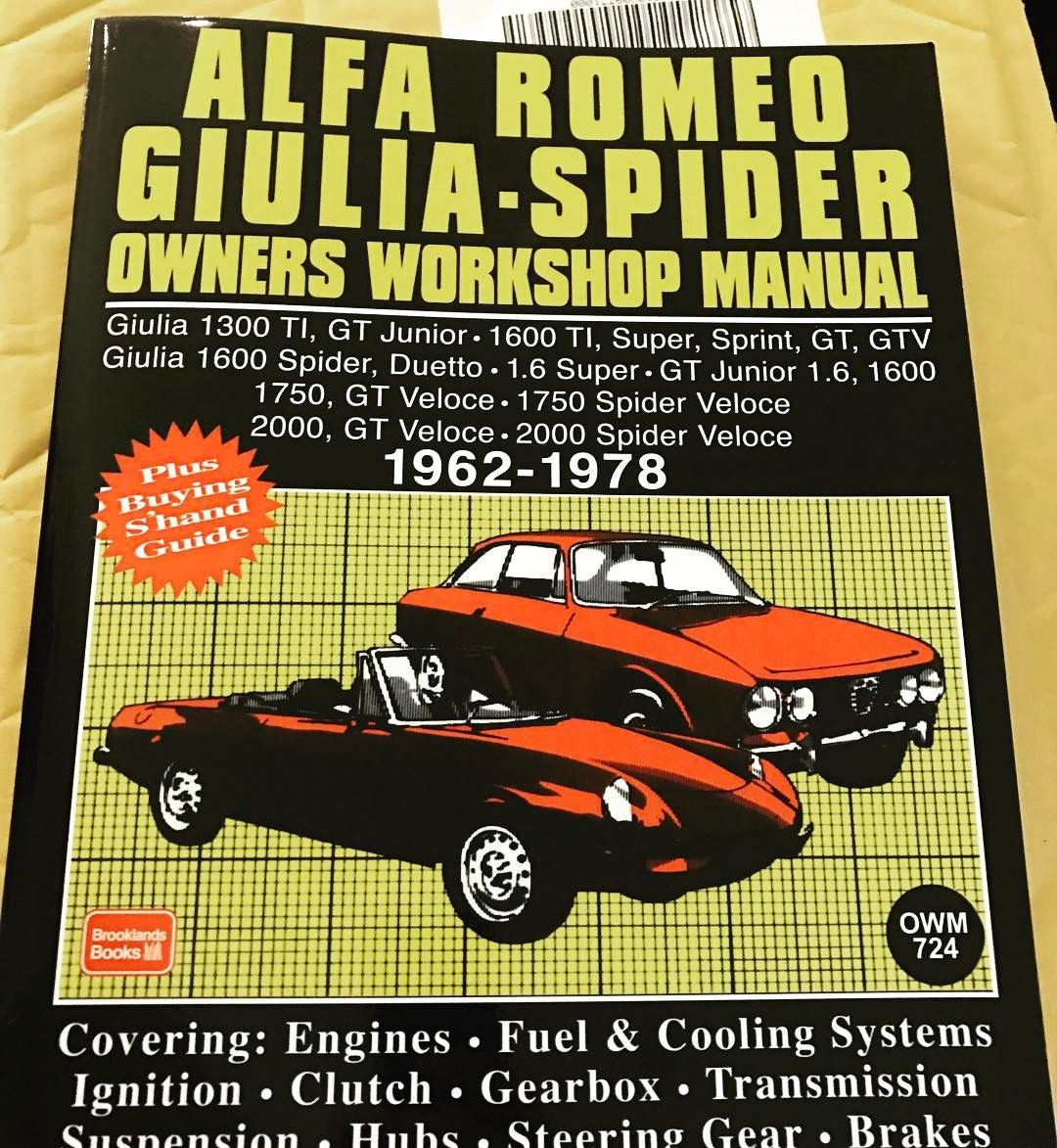 One More Day Shop Manual At The Ready Alfa Gtv Quadrifoglio Justgo Alfa Romeo Giulia Alfa Romeo Alfa Romeo Spider