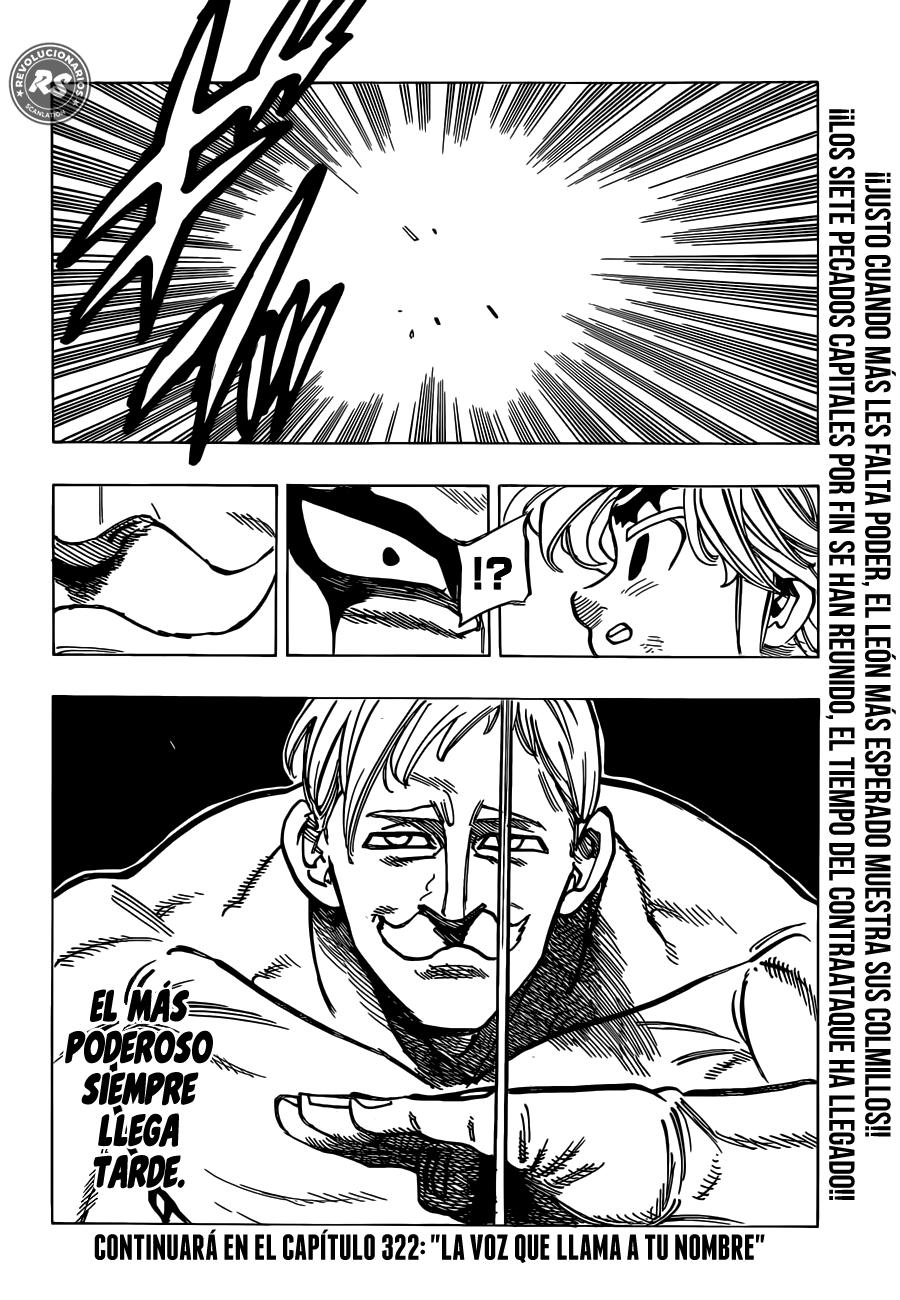 Nanatsu no Taizai Capítulo 321 por Revolucionarios