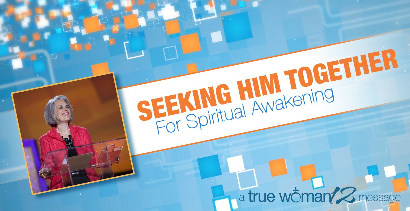 Seeking Him Together for Spiritual Awakening - Nothing is more satisfying than seeking the Lord. Nancy Leigh DeMoss shows you what a seeking heart looks like by looking at the Song of Solomon. Your passion for God's presence will grow when you listen.